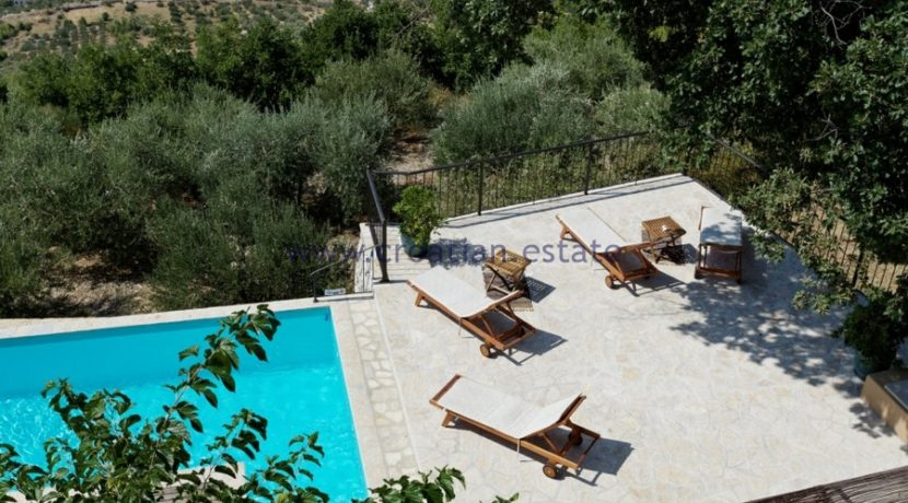 croatia omis villa pool 92