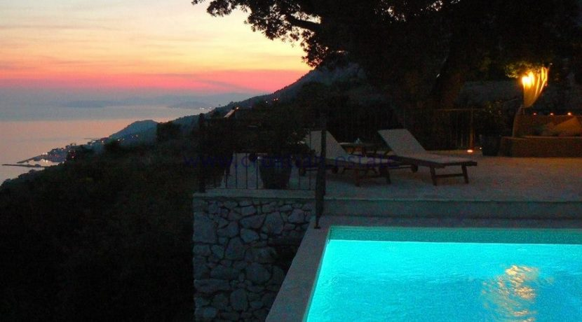 croatia omis villa pool 94