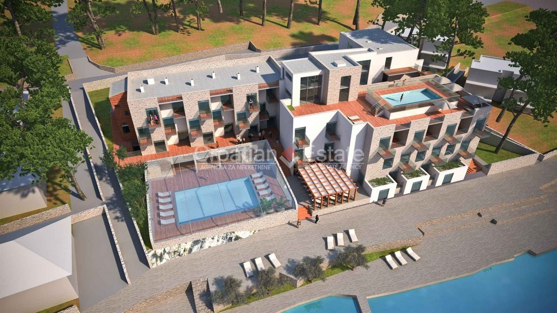 Rogoznica, Hotel with design and permits for reconstruction for sale