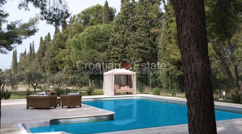 villa with big plot tennis pool privacy brac croatia (14)