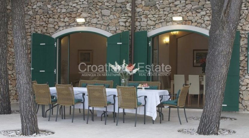 villa with big plot tennis pool privacy brac croatia (3)