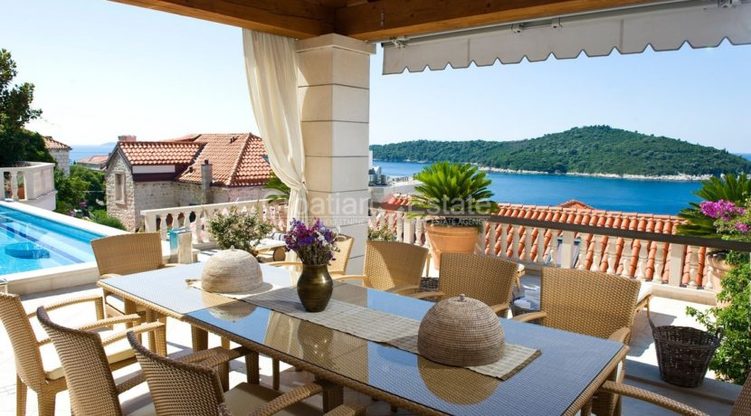 Luxury villa dubrovnik with pool , sea view for sale zum verkaufen (26)