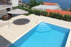 Trogir Ciovo House view pool (3)
