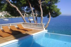 Trogir ciovo villa house pool seafront direct sea view (7)