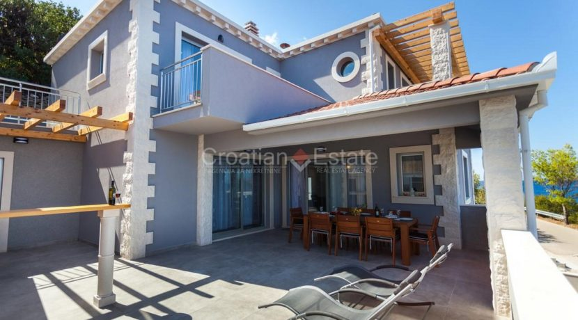 Korcula newly built villa with pool seafront 12 (Kopiraj)