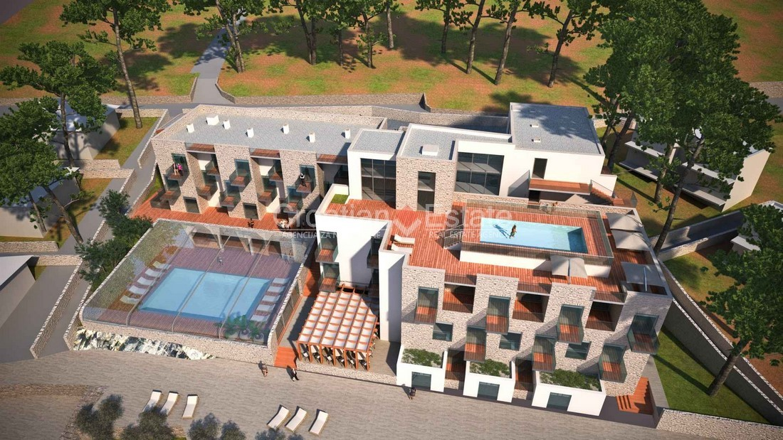 Rogoznica, building plot with hotel project for sale
