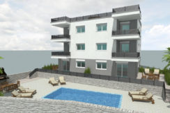 Ciovo two bedroom apartment common pool for sale 1
