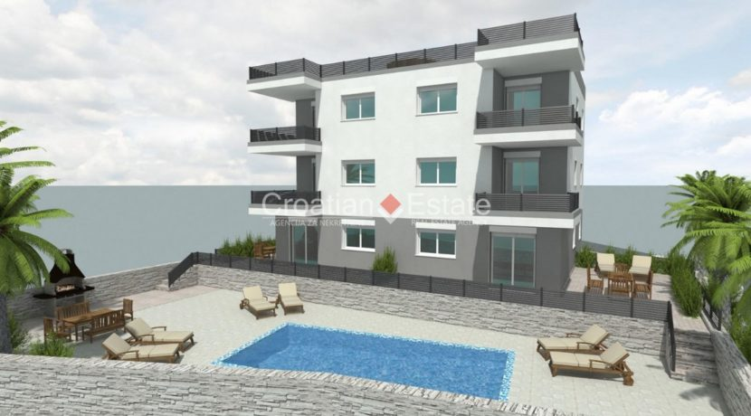 Ciovo two bedroom apartment common pool for sale 1 (Kopiraj)