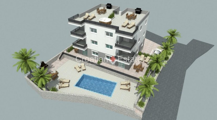 Ciovo two bedroom apartment common pool for sale 12 (Kopiraj)
