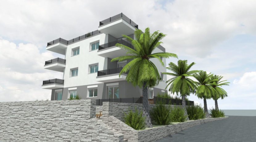 Ciovo two bedroom apartment common pool for sale 3