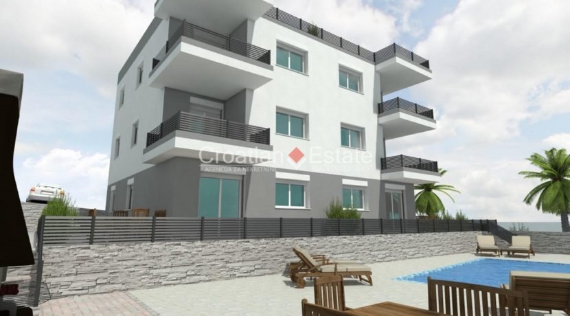 Ciovo two bedroom apartment common pool for sale 5 (Kopiraj)